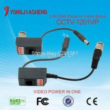 5Pairs  CE FCC ROHS 1CH Passive utp video balun for CCTV  camera Balun  passive video balun