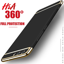 H&A Luxury Phone Cases For Huawei P10 P9 P8 lite Plus Case 360 Full Coverage Phone Cover For Huawei Honor 9 V10 Mate 9 10 Case(China)