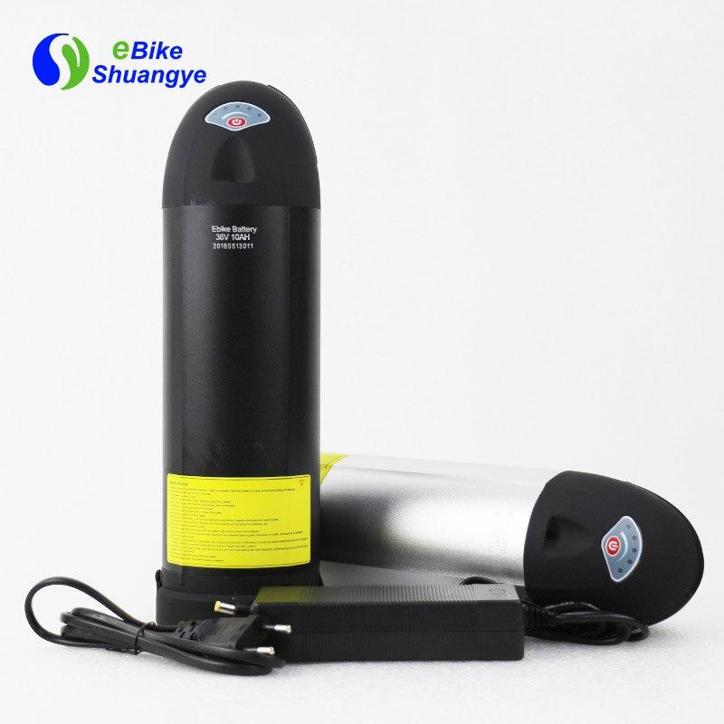 48V10AH bottle battery short case 375mm90mm10