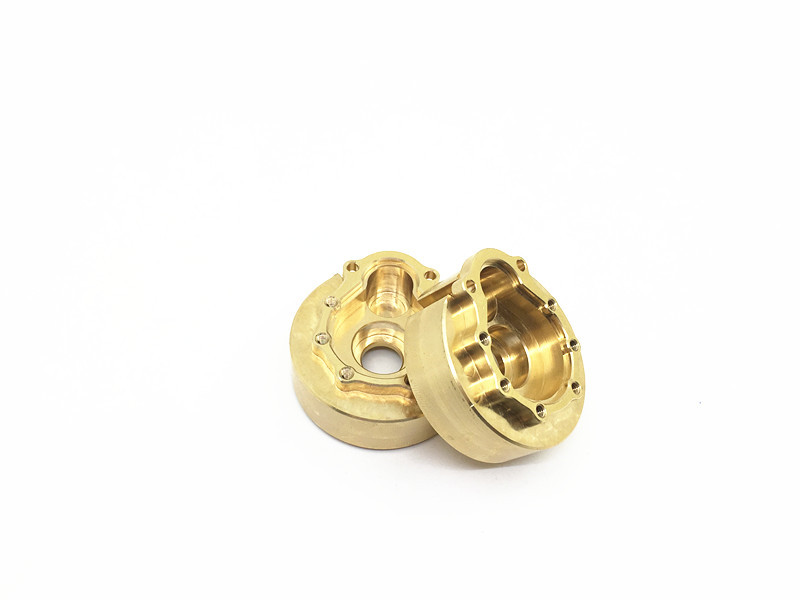 Axspeed 1 Pairs Copper Counterweights for 1/10 SCALE TRAXXAS TRX-4 RC Crawler Car Alloy Wheel Hub Free Shipping<br>