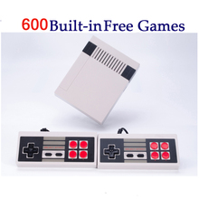 Mini Portable Retro Classic handheld Game Player Family TV video Game Console Childhood Built-in 500/600 Games Games for Child(China)