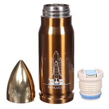 Practical and Cool STAINLESS STEEL VACUUM THERMOS FLASK INSULATED BOTTLE THERMAL TRAVEL DRINKS CUP