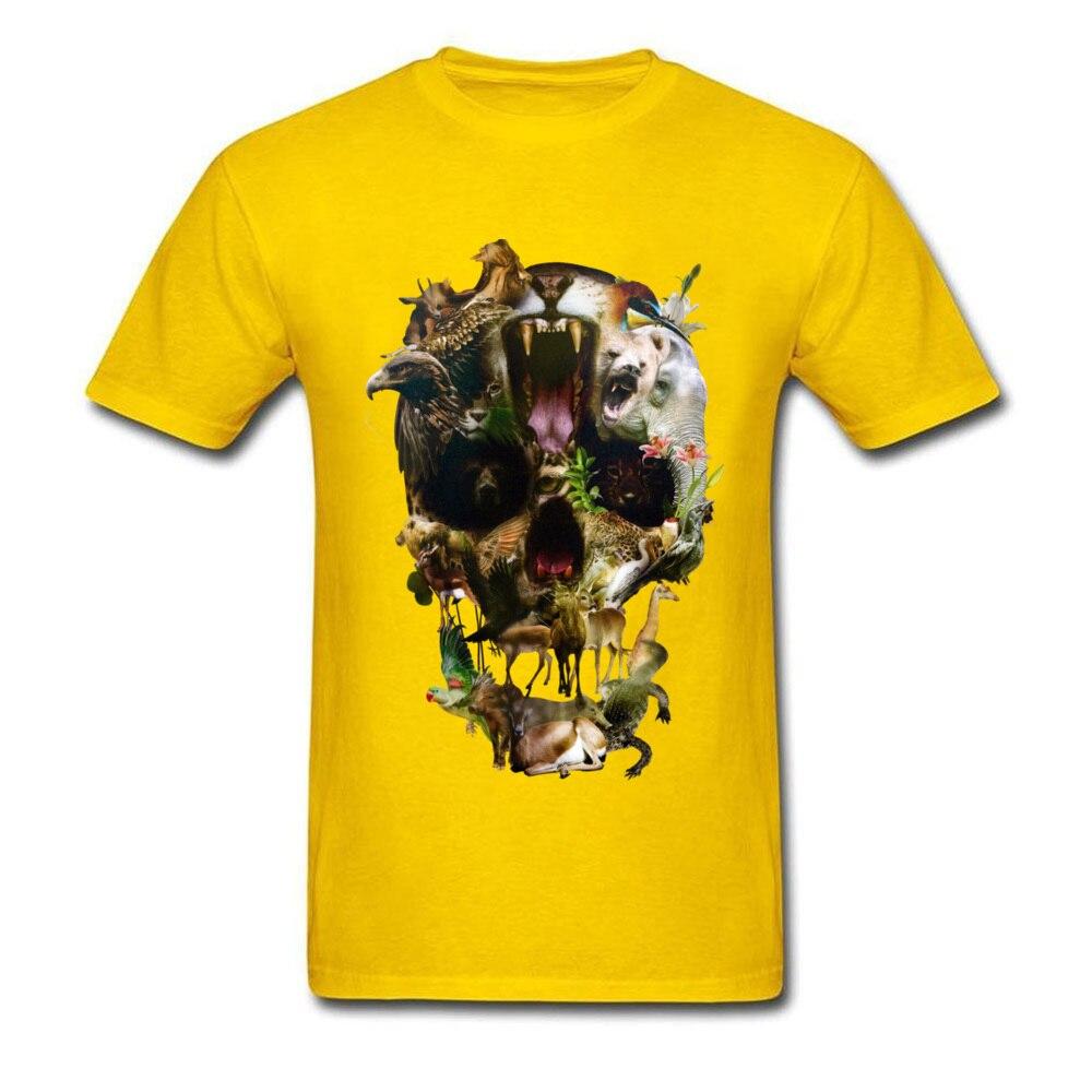 Kingdom Men Discount Summer Tops & Tees O Neck Summer/Autumn 100% Coon Fabric T-Shirt Casual Short Sleeve Tee Shirt Kingdom yellow
