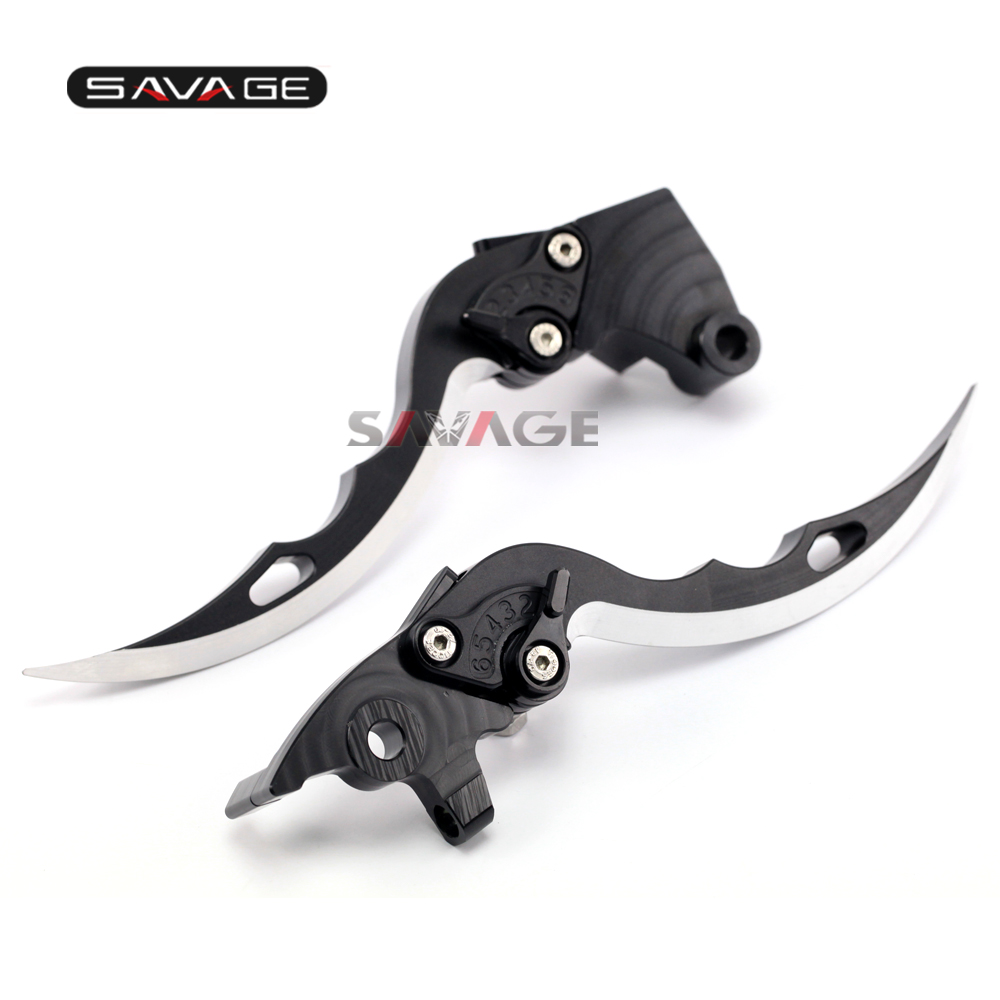 For YAMAHA XJR1200 1994-1997, XJR1300 1998-2003 Knife Blade CNC Long Brake &amp; Clutch Levers Motorcycle Accessories<br>