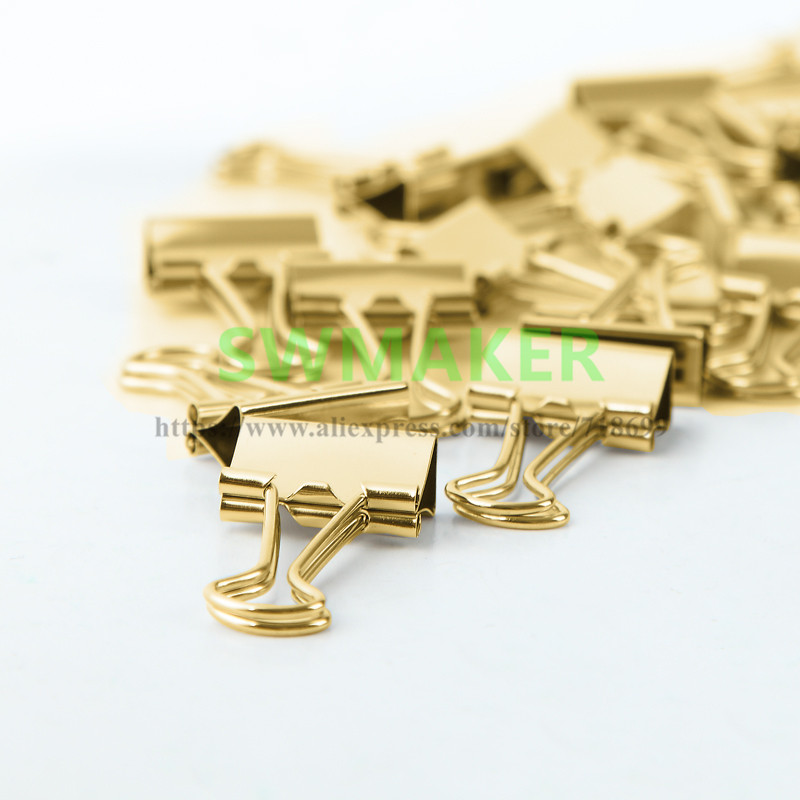 15mm-19mm-25mm-32mm-41mm-51mm-Luxury-gold-color-Clips-for-Heatbeds-Foldback-Bulldog-Glass-Bed