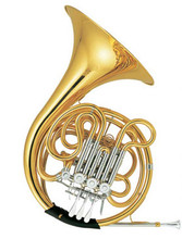 Double Row French Horn F/Bb French Horn Four Flats with case and mouthpiece Musical Instruments Professional