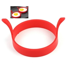 Best Deal 4pcs Kitchen Cooking Silicone Fried Oven Poacher Pancake Egg Poach silicone mold cooking tools