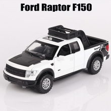 Car Models 1 32 Ford Raptor F150 Big Truck Alloy Car Toys For Kids Scale Metal Car Styling Diecast Oyuncak Toy Truck 3 colors