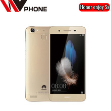 "WV Original Huawei Honor enjoy 5s 4G LTE Mobile Phone MT6753T Octa Core Android 5.1 5.0"" 1280X720HD 2GB RAM 16GB ROM(China)"