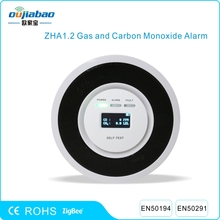 Oujiabao Zigbee Gas Alarm Detect Natural Gas, CNG, LPG and Carbon Monoxide with EN50291 EN50194 Certificates(China)