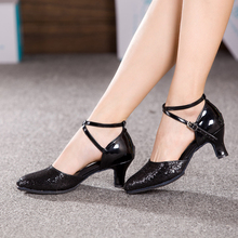 NEW Women Ladies Latin Dance Shoes Indoor Suede Sole Prom Party Ballroom Tango Salsa Dancing Shoes Heeled 3.5/5.5/7cm
