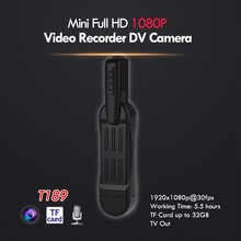 BOBLOV T189 8MP Full HD 1080P Mini Camara Pocket Camcorder Voice Recorder Digital Video Camera With Clip Mini DV