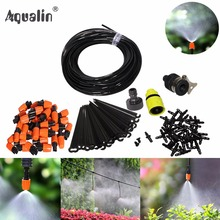 25m Automatic Micro Drip Irrigation System Garden Irrigation Spray Self Watering Kits with Adjustable Dripper #26301-2(China)