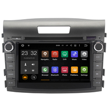 Android 7.1 1024*600 8 Inch Car DVD Player GPS Navigation System for Honda CRV CR-V 2012 2013 2014 Radio Can Bus 1080P 3G WiFi