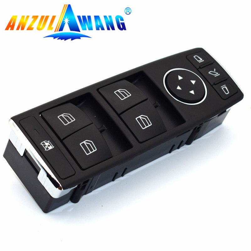 For W212 E-Class W204 C-Class 207 Window Switch Block Electric Power Window Master Switch  for benz C117 G500 G550 C2 A204905540(China)