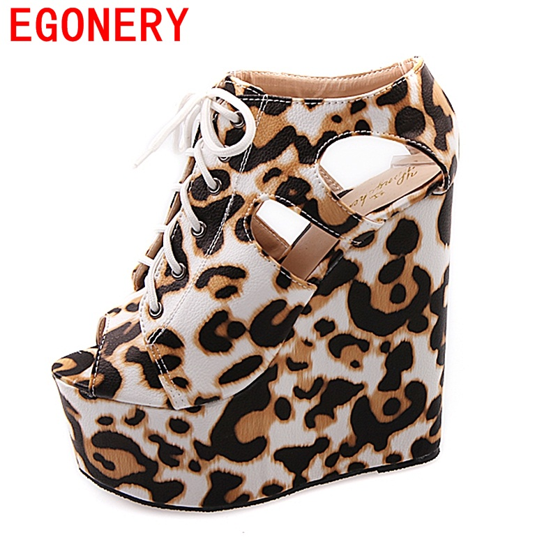 EGONERY 2017 fashion sandals women shoes for party super high heels shoes wedges lace pumps high quality dress shoes for woman<br>