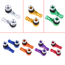 Car Styling Wheel Tire Valve Stem Cap Air Cover Motorcycle Valve Stem Dust Cap Covers For Aluminium Alloy For Bicycle Auto Truck