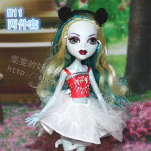 fashion kids bjd Doll Accessories toys Girls Gift doll clothes party dress casual suit Original For Monster High Dolls 1/6 134