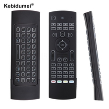 MX3 Air Mouse Backlight MX3 2.4G Wireless Keyboard Remote Control IR Learning Fly Air Mouse Backlit For Android PC TV Box(China)