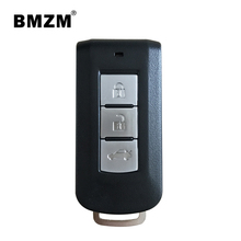 BMZM 3 buttons smart remote car key 433mhz for Mitsubishi OuLanDe/Jin Xuan/wing GOD;High Quality Original remote control CAR key(China)