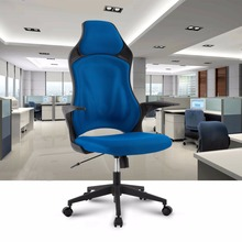 Ergonomic High-Back Mesh Office Executive Gaming Chair 360 Degree Swivel with Knee-Tilt Blue Office Chair(China)