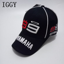 Newest MOTO GP Baseball Cap Jorge Lorenzo 99 Cap Motorcycle Fans High Quality Hats Racing Cap 3D Cotton Embroidery Logo(China)