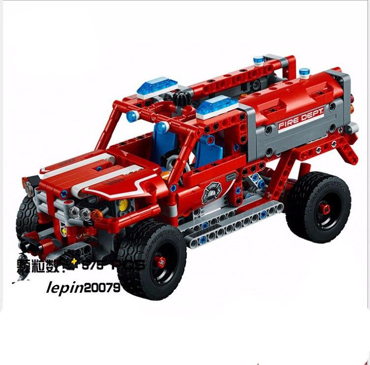 Lepin  Technic 20079 legoing Technic 42075 Series The First Responder  Building Blocks Bricks Educational Toys decool 3368<br>