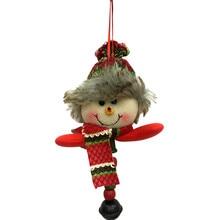 Christmas Decoration Non-woven Fabrics Pendant Xmas Party Christmas Snowmen Home Decor Ornament Xmas Decoration Navidad 2018@YL