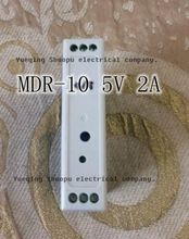 Mini Size Din Rail Single Output Switching power supply MDR-10-5 Din Rail 10w 2a 5v(China)