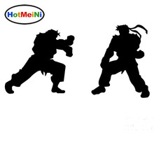 HotMeiNi Japanese Fighting Game Street Fighter Fierce Fighting Car Sticker Bumper Motorcycles Car Covers Vinyl Decal 10 Colors(China)