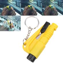 3 in 1 Emergency Mini Safety Hammer Auto Car Window Glass Breaker Seat Belt Cutter Rescue Hammer Car Life-saving Escape Tool (Y)(China)