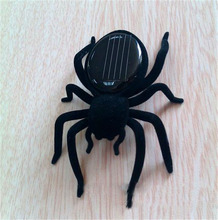 Babay Kids Toys Solar Spider Tarantula Educational Robot Scary Insect Gadget Trick Toy Free shipping