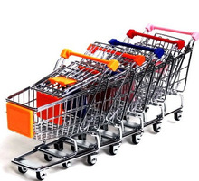 kids educational toys baby toys mini shopping cart shopping trolley made of metal