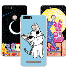 "Cute Painted Dog Bear Cat Cases For Leagoo Kiicaa Power Soft TPU Case Cover Coque For Leagoo Kiicaa Power 5.0"" Fundas +Free Gift(China)"