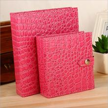 New Display Popular Jewelry Boxes And Packaging Jewellery Gift Box Pu Leather Stud Earrings Collection Book Creative Jewelry Box