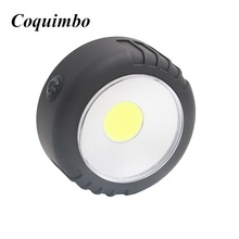 2017 Mini Portable LED Lightweight Lanterns Waterproof flashlight torch For Emergencies Outages Magnet Hanging Lamp(China)