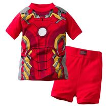 children clothes kids summer pajamas child toy story pyjamas baby girls pyjamas boys Iron Man spiderman hulk pijamas sleepwear