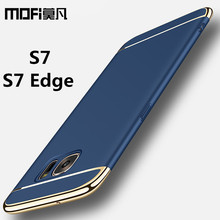 for Samsung S7 case Samsung Galaxy S7 Edge case cover hard back protection S7edge capas coque blue gold MOFi original s7 cover