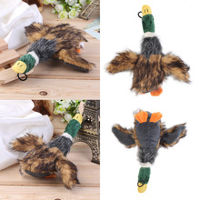 2017 Classic Dog Toys Stuffed Squeaking Duck Dog Toy Plush Puppy Honking Duck for Dogs pet chew squeaker squeaky toy
