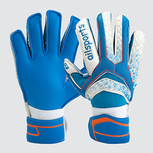 2017 Men Kids Professional Goalkeeper Gloves Finger Protection Thickened Latex Soccer Football Goalie Gloves Goal keeper Glove