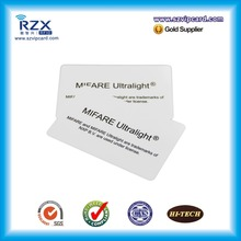 Free shipping 13.56Mhz MIFARE Ultralight chip rfid blank cards for Evolis printer 200pcs(China)