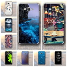 Soft TPU Case for Samsung Galaxy J7 2015 Cover 3D Relief Phone Case for Samsung Galaxy J7 J700 J700F J700H SM-J700F Fundas Bags(China)