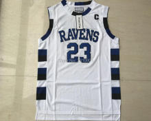 One Tree Hill  Jersey 23 Nathan Scott 3 Lucas Scott One Tree Hill Ravens Basketball Jersey Stitched White Black Blue S-3xl