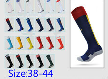 European Cup Team Men Football socks Soccer Towel bottom Football Socks Breathable Protection Foot
