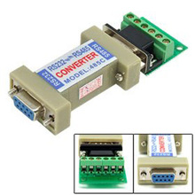 10pcs/lot RS232 to RS485 Communication Data Converter Adapter
