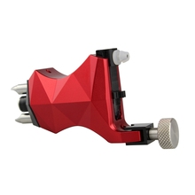 2017 New Style Tattoo Machine Black and Red Color Rotary Tattoo Machine For Shader & Liner Permanent Makeup Tattoo Free Shipping(China)