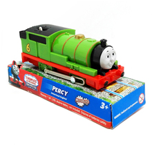 T0198b Electric Thomas and friend Percy Trackmaster engine Motorized train kids plastic toys  With original packaging Packaged