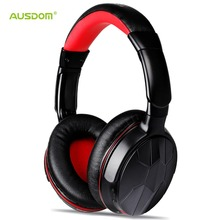 AUSDOM M04s HiFi NFC Bluetooth Headphone Over Ear Wireless Headset with Microphone Strong Bass Stereo Headphone for iPhone PC