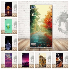 Telephone Cases For Lenovo Vibe X2 Pro Case 5.3 inch Cool Flower Cartoon tiger Soft Back Cover Skin Housing Sheath Hood Bag Capa