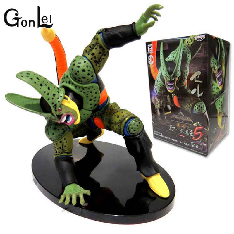 GonLeI Dragon Ball Z Figure DXF Cell PVC 180mm Dragon Ball Z Action Figure DBZ Cell Second Modal DragonBall Z T261(China (Mainland))